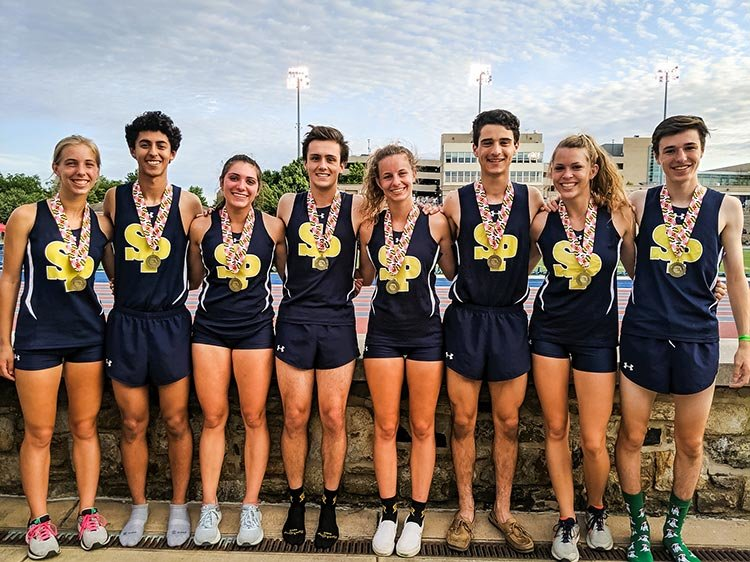 The girls and boys Severna Park 4x800 relay teams won 4A state titles at the state championship meet over Memorial Day Weekend.