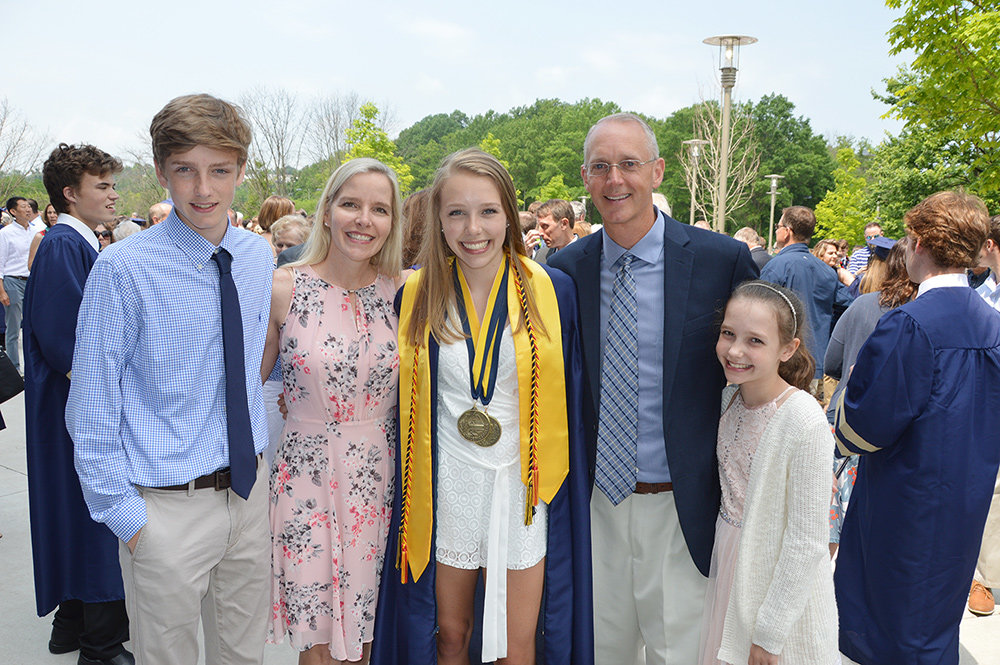 Reese Barrett was the valedictorian for the Severna Park High School class of 2019.
