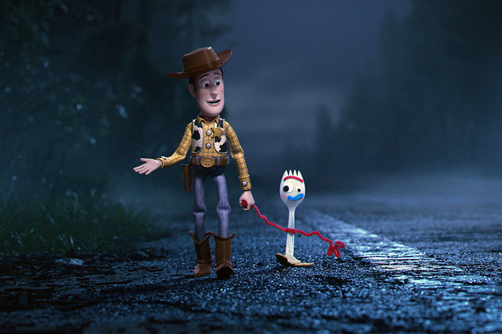 "By following the adventures of Woody and Forkie, ""Toy Story 4"" explores the theme of what remains after we have served the purpose society set out for us."