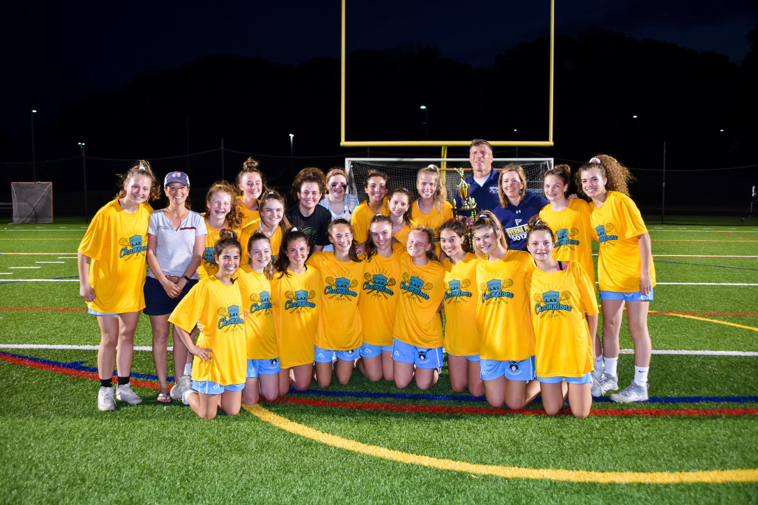 The Elvaton Icebreakers went 9-2 overall and defeated South River and Broadneck in the playoffs, winning the Anne Arundel County Junior A Division championship game 9-8 in overtime against Broadneck at Chesapeake High School on May 18.
