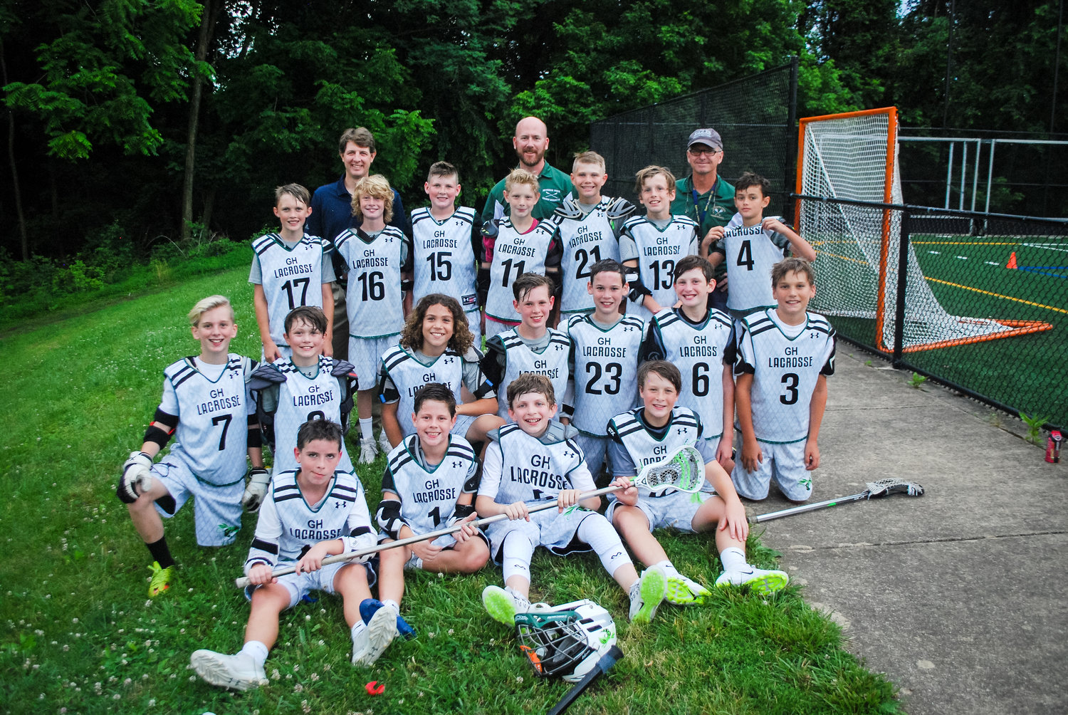 The Severna Park Green Hornets Swarm fifth-grade boys lacrosse team secured a state-tournament championship with wins over Silver Spring and Cockeysville to go with a county-championship victory over the Pasadena Bay Dogs.