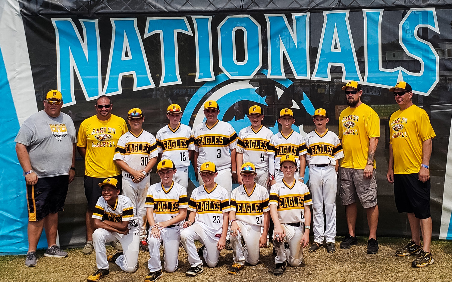 The 11U Eagles went 19-11-4 on the season, which included strong play in the Chesapeake Baseball Association and in multiple tournaments.