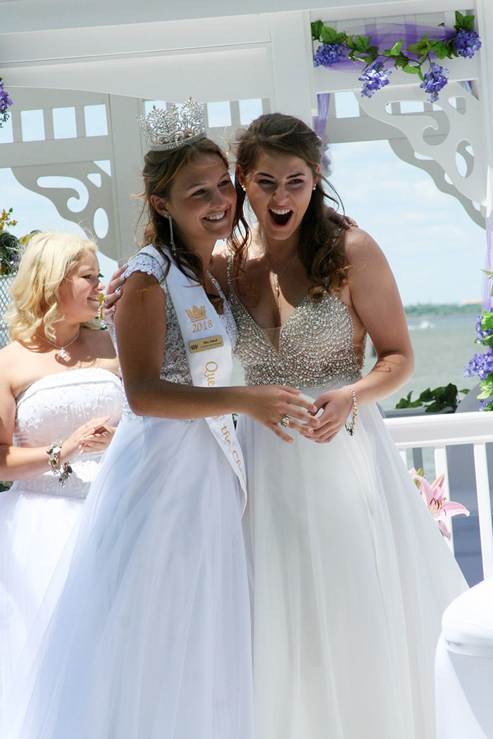 Dulayne Sterling, former princess of Bodkin Yacht Club and a rising senior at Chesapeake High School, was crowned Queen of the Chesapeake in June.