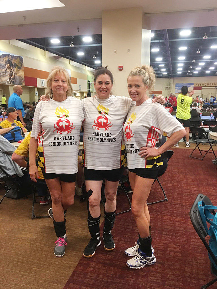 Dee Schultz was part of a team that traveled to Albuquerque, New Mexico, to play in the 2019 National Senior Olympic games from June 14-23.