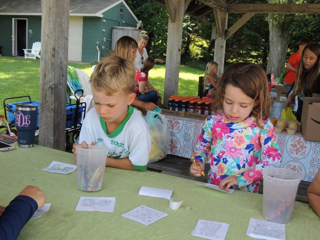PHOTO GALLERY: Round Bay Campers Assemble Blessing Bags For