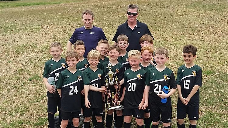The Green Hornets 2010 Lads boys soccer team went undefeated at 9-0 in Anne Arundel Youth Soccer Association play in the spring and will aim for continued success in the Central Maryland Short-Sided League this fall.