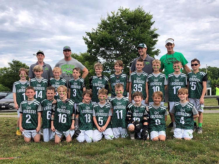 The Green Hornets third-grade select boys lacrosse players were undefeated champs of the Anne Arundel County Clinic U9 A Division and finished with a 17-5 overall record in two leagues and two tournaments.