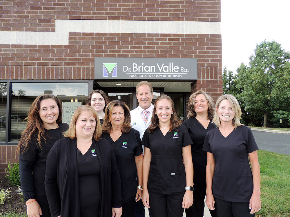 Dr. Brian Valle opened his practice in Millersville 30 years ago, and he sees his greatest accomplishment as being able to satisfy the needs of so many people in the community over the years.