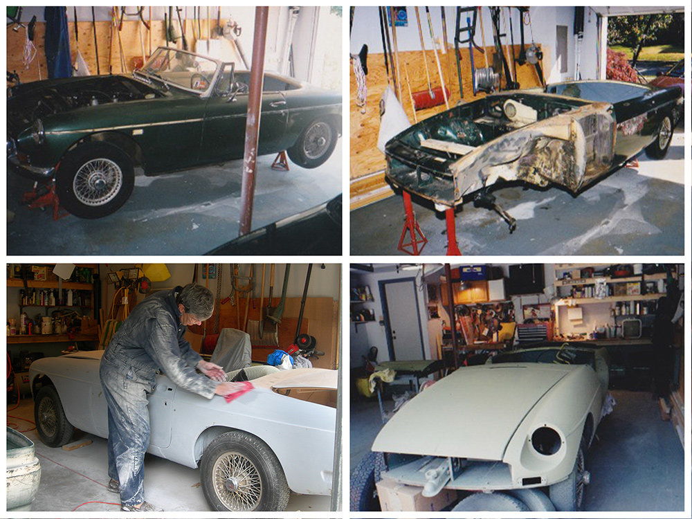 Nowadays, Jim Lieby can be found in his Shipley's Choice garage putting the finishing touches on his 1969 MG MGB convertible, an endeavor he began nearly 20 years ago.