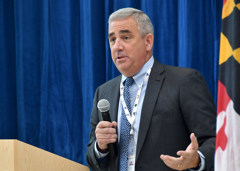 Citing advice from the Anne Arundel County Department of Health, AACPS Superintendent George Arlotto advised the Board of Education to plan for schools to start reopening by March 1.