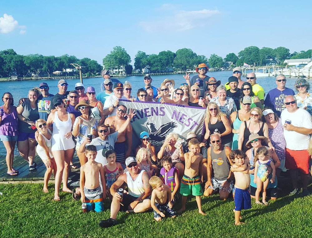 About 200 people were in attendance when Ravens Nest 18 held Pirate Putts on the Bodkin Creek in August. The fundraising event goes toward a scholarship fund.