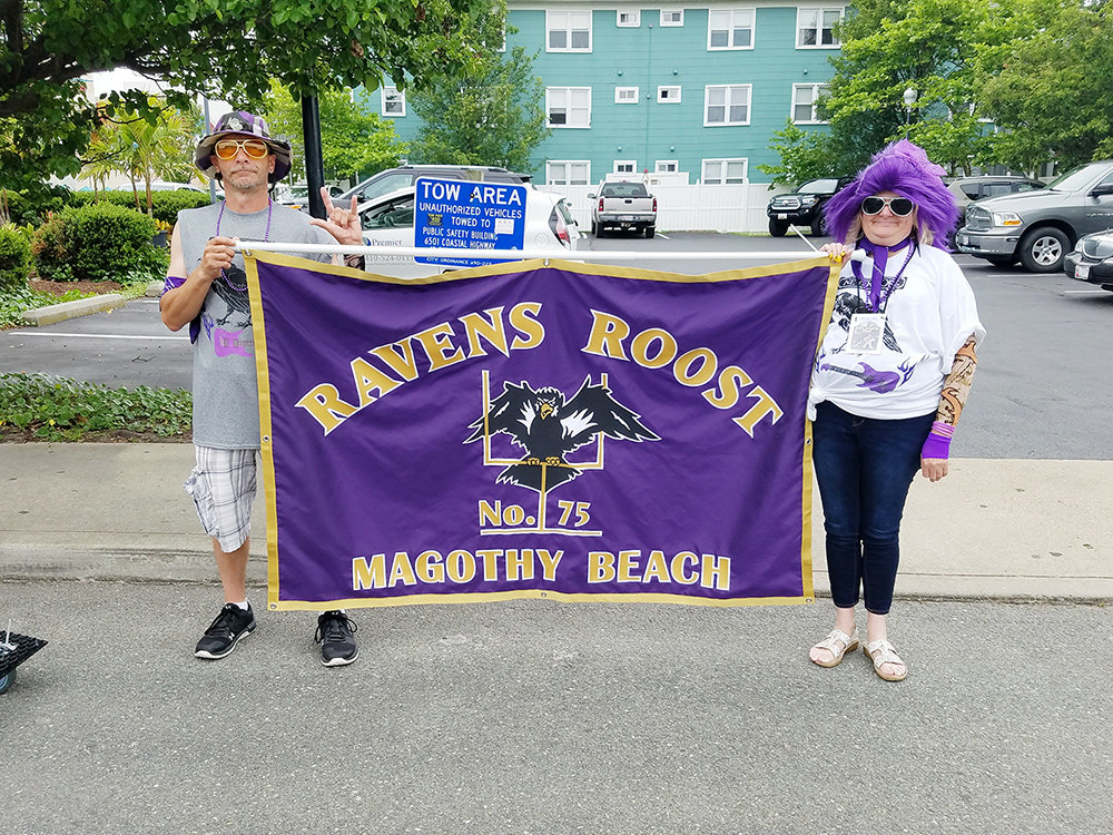 Ravens Roost 75 members are still euphoric after bringing home three trophies at the annual convention held by the Council of Ravens Roosts in Ocean City: second place in the crazy hat parade, first place in the mini golf tournament and first place in the Best of Theme float for the parade.