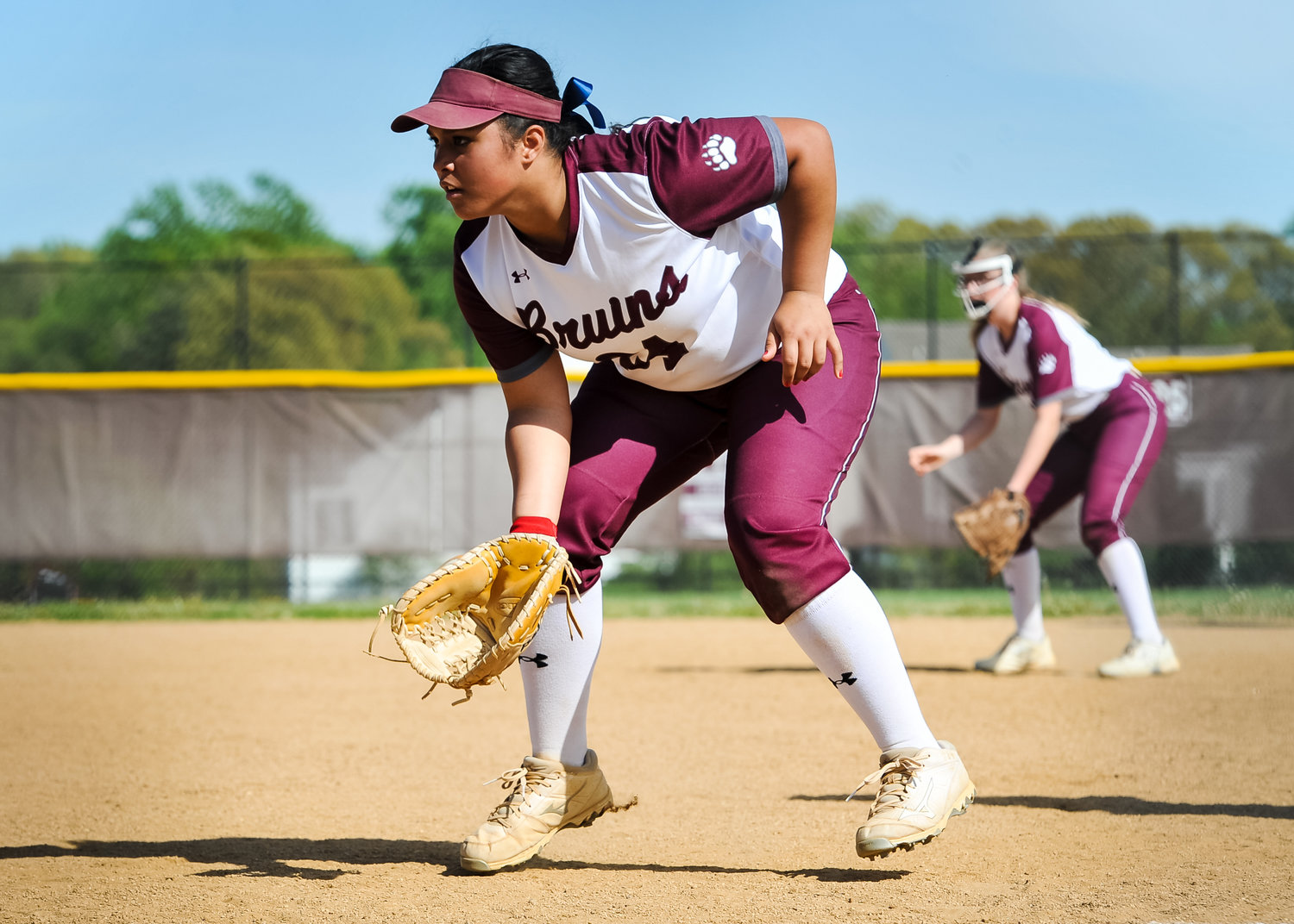 Broadneck senior Elizabeth Shafer is a four-year varsity softball player for the Bruins who is committed to play at Dayton next year.