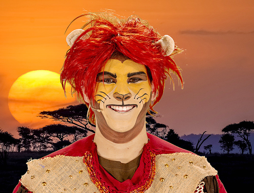 """The Lion King"" will bring characters to life with makeup and green screen technology."