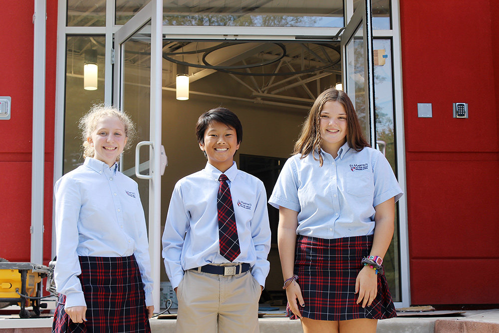 Families interested in visiting St. Martin's-in-the-Field Episcopal School are invited to an open house on Monday, November 11, from 9:00am to noon.