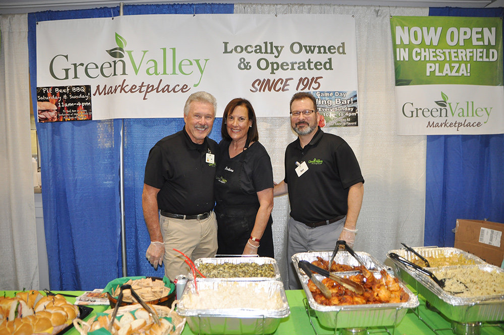Rick Rodgers (right) and the B. Green team hope to bring variety to the new store.