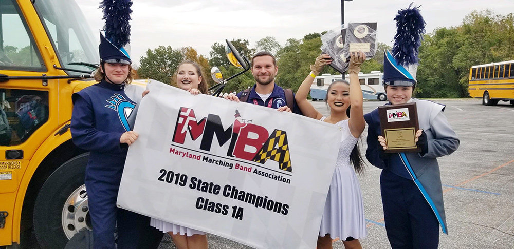 After an undefeated season, the Chesapeake High School marching band is the MMBA state champion.