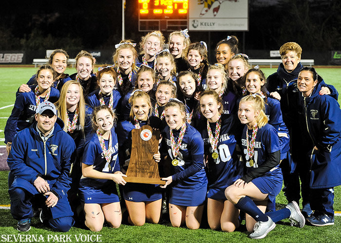 Severna Park finished its season with a 1-0 victory over Dulaney in the Class 4A state championship at Washington College on November 9. It is the program's first state title since 2015 and 24th all-time.