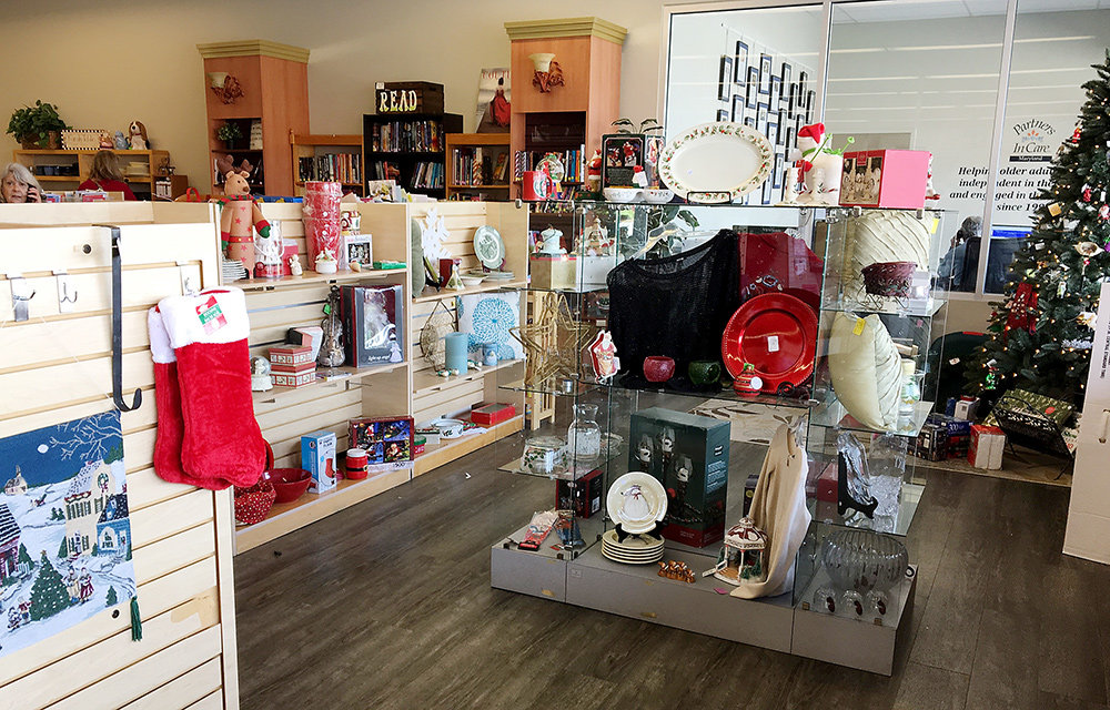 In addition to the clothing, housewares, jewelry and decor that the boutique normally carries, shoppers will find holiday items throughout the store.