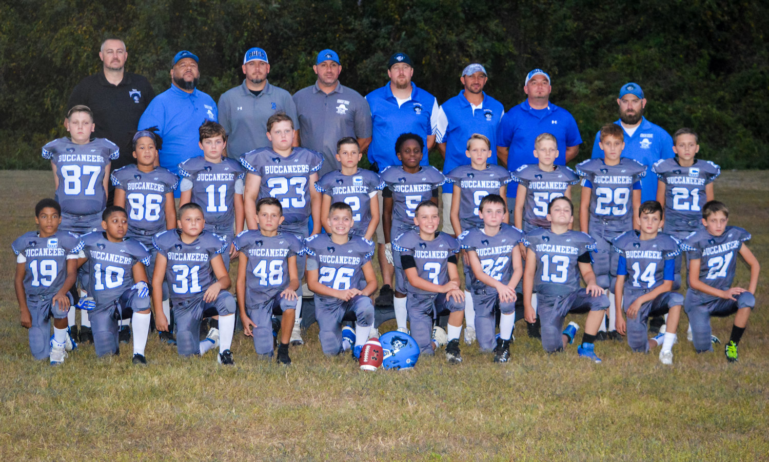 The Bucs went 2-0 in the playoffs with victories over Cape and South Bowie to win the Anne Arundel Youth Football Association 10U National division championship.