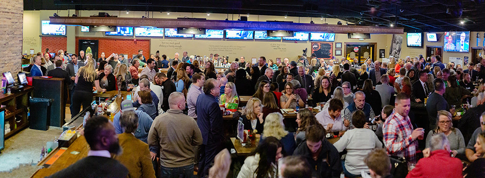 Anne Arundel County Association of Realtors (AACAR) collected more than 151,000 pounds of food for the Anne Arundel County Food Bank when it hosted its 14th annual Harvest for the Hungry Happy Hour November 21 at Twain's Tavern.