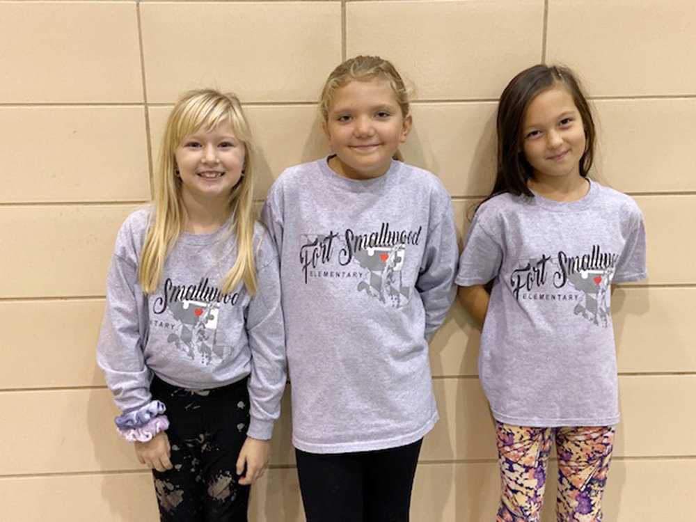 Fort Smallwood Elementary School students and staff were encouraged to celebrate by dressing with a healthy and encouraging theme each day.