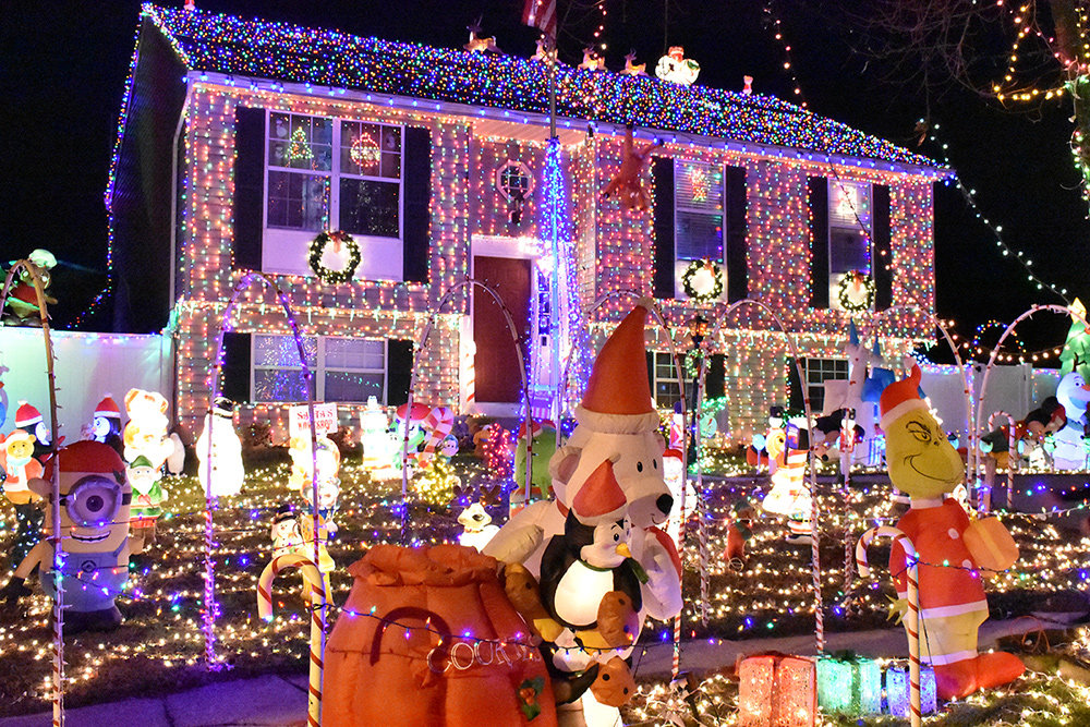 "Nicknamed ""The House of Christmas,"" this house will put anyone in the holiday spirit."