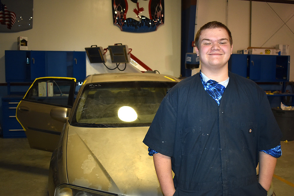 Anthony Barnes enrolled at CAT North because he had always been interested in working with cars.