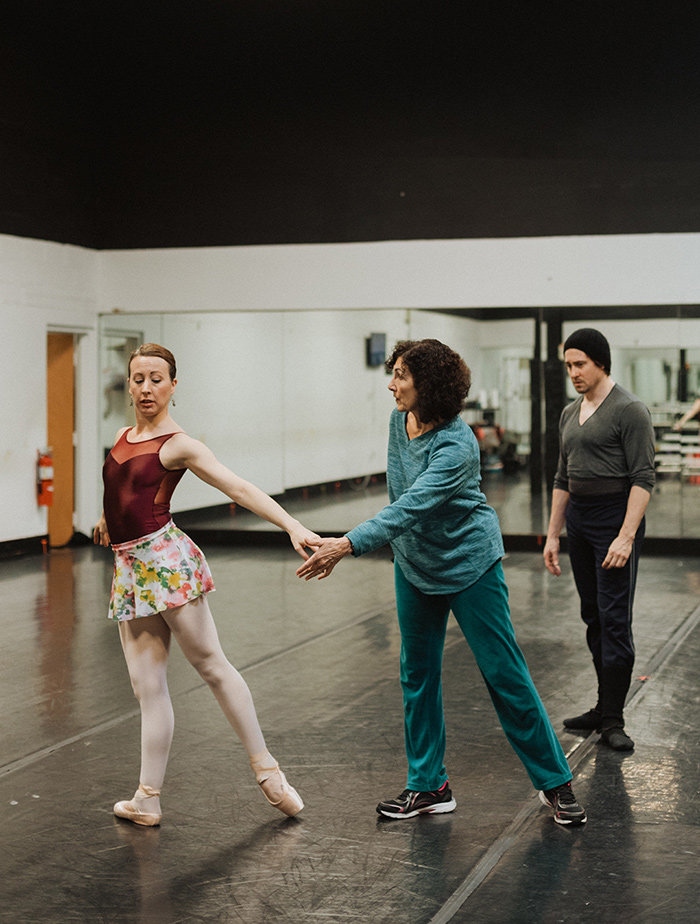 Dianna Cuatto is a prolific choreographer who has created more than 109 works of ballet choreography for the Ballet Theatre of Maryland during her 17-year tenure.