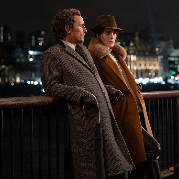 "In true Guy Ritchie fashion, ""The Gentlemen"" tells a story with lots of twists and turns at breakneck speed in a completely non-linear fashion."
