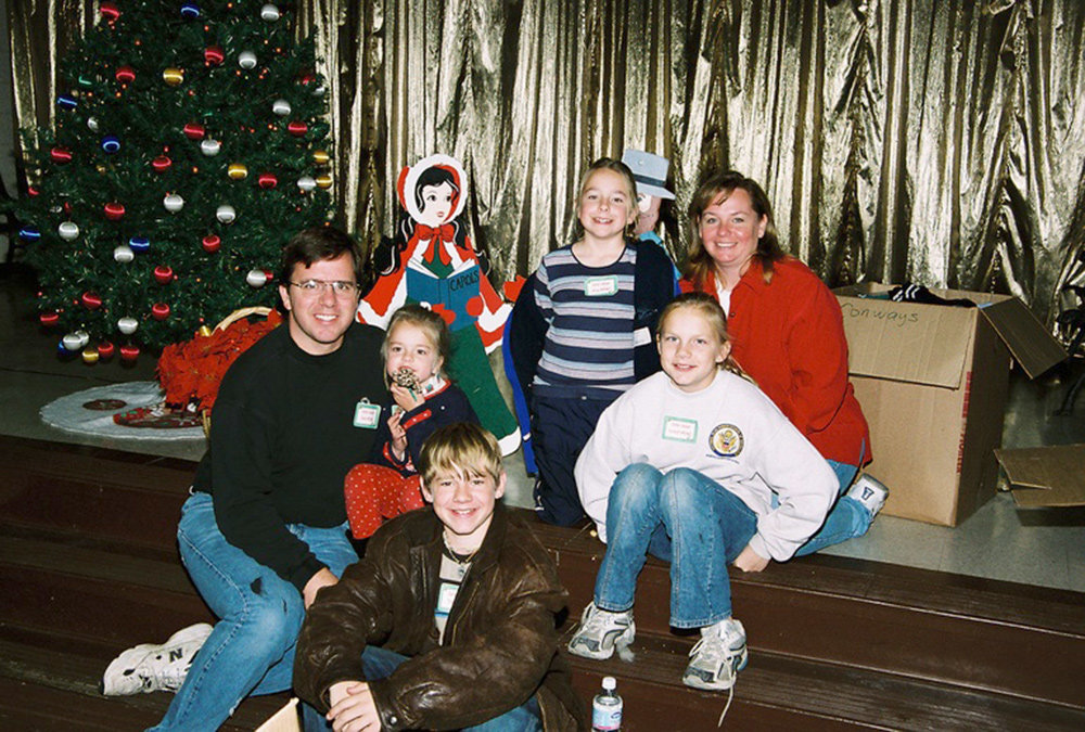 The Mitchell family started their organization after providing 60 children with Christmas gifts in 2004.