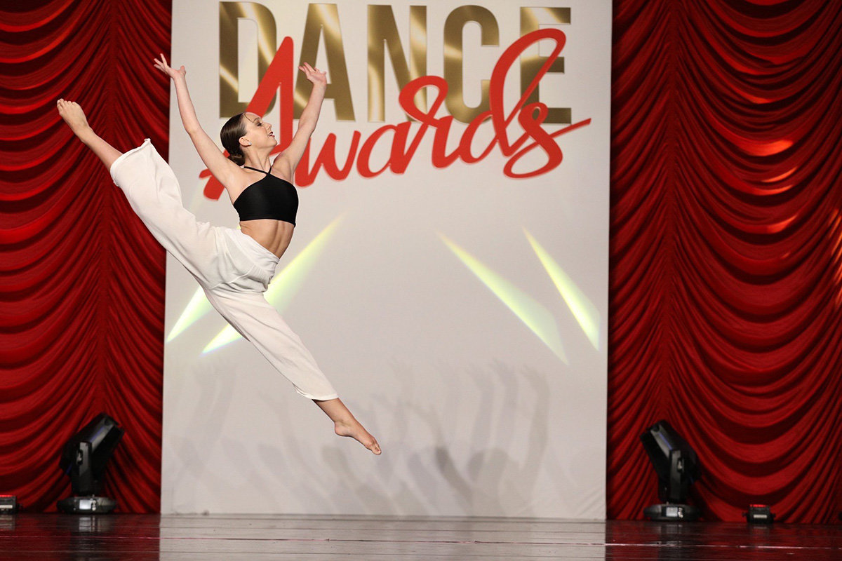Cailey Solano competed at the Dance Awards in Orlando (pictured). She also won first place at the Showstopper East Coast finals national competition.