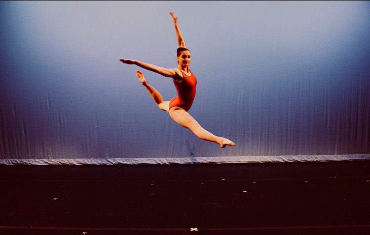 Outside of school, Maggie Kubista dances with Maryland Performing Arts Center under the direction of Kelsey King.