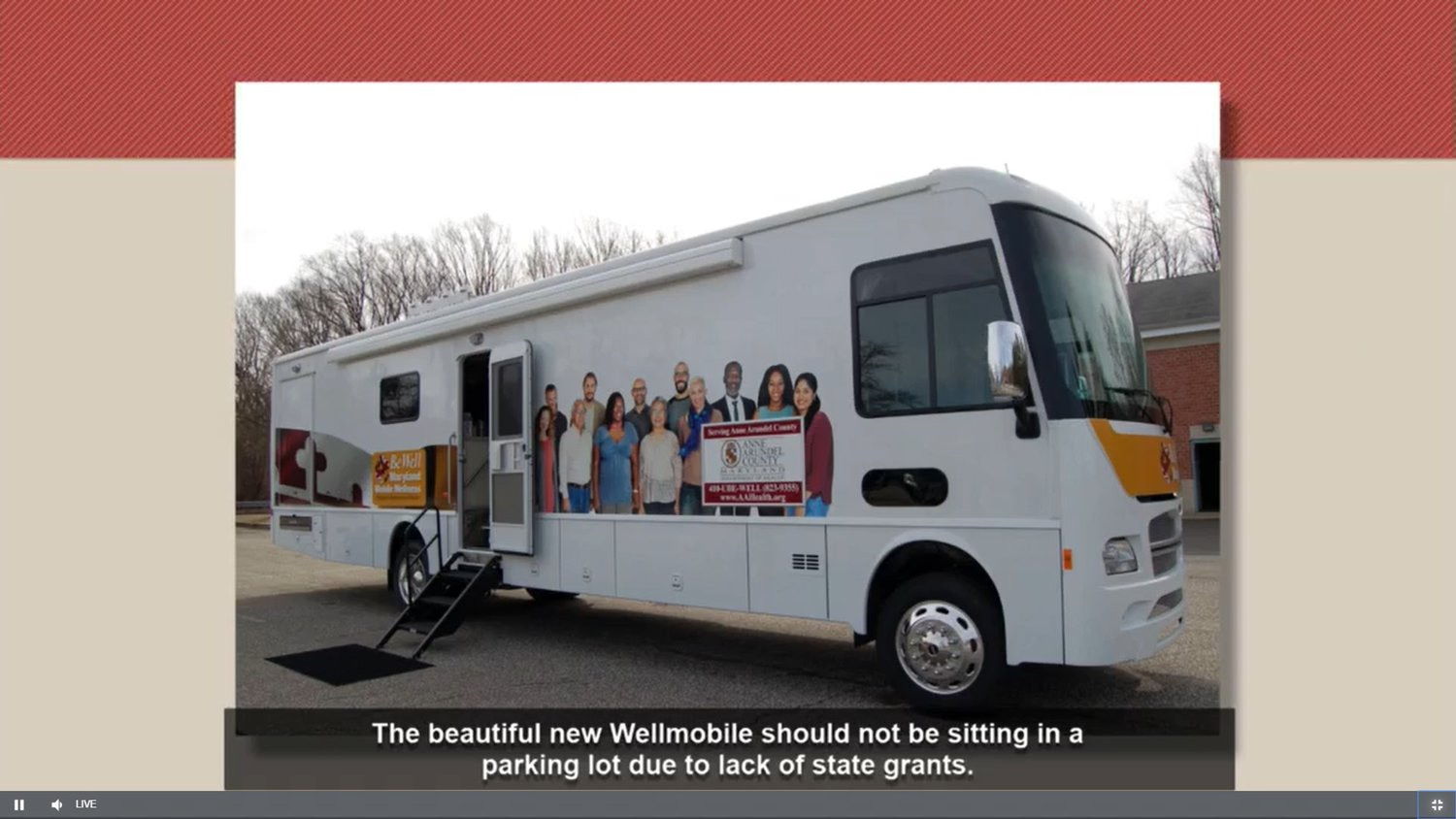 The county will also fund crisis response teams and the Wellmobile while continuing its search for outside funds.