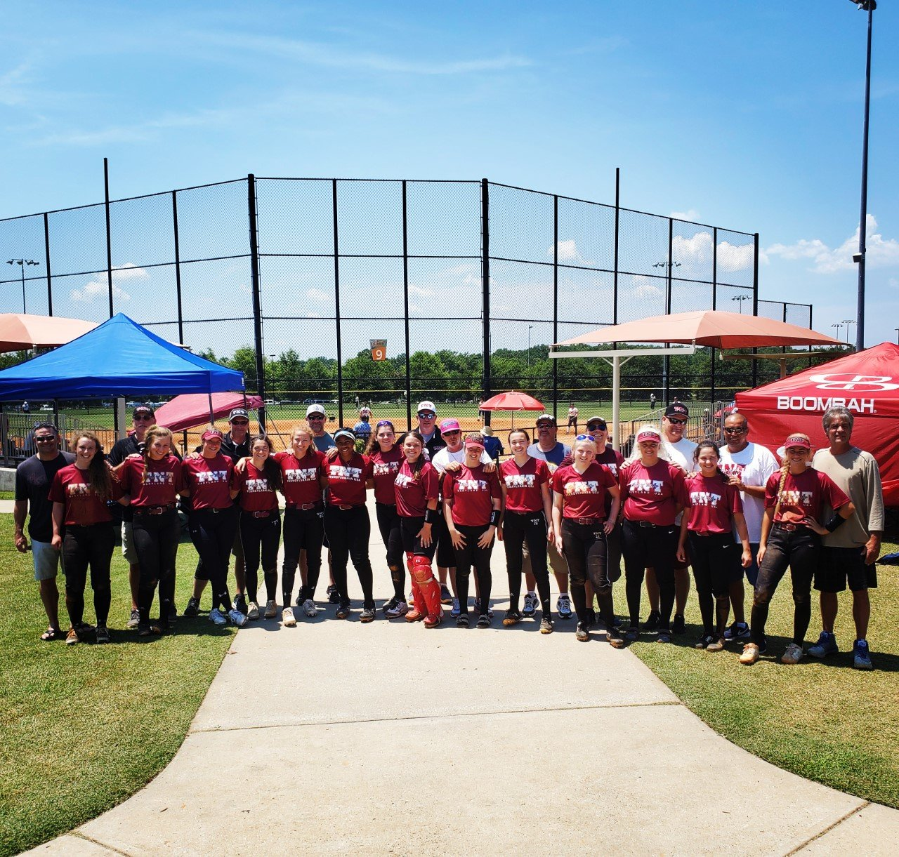 Over the weekend of June 19-21 in Spartansburg, South Carolina, the team played four games, going 3-1 against teams from North Carolina, South Carolina, Georgia and Florida.