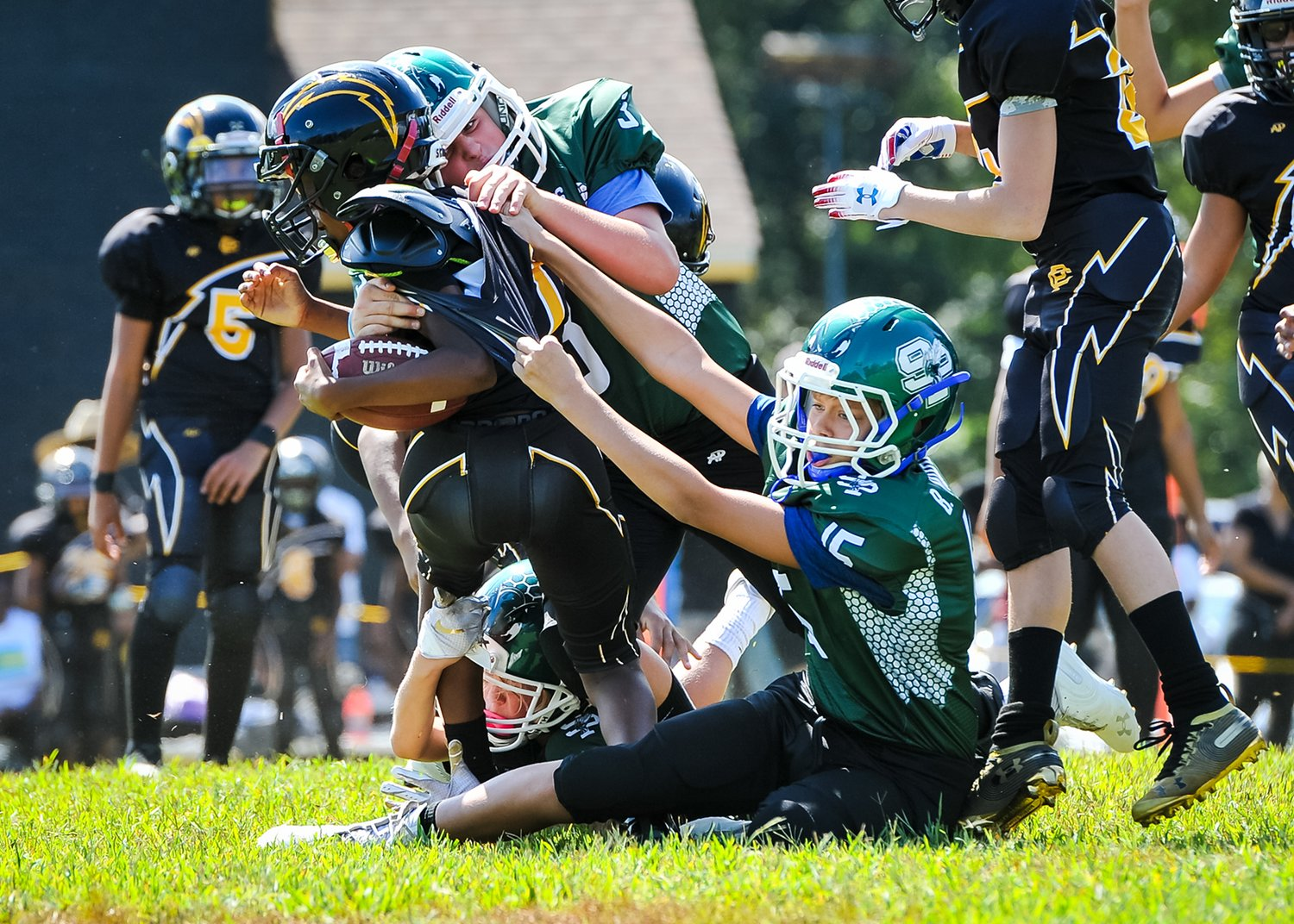 Youth tackle football is now allowed this year following an initial decision to limit the sport to flag football only.