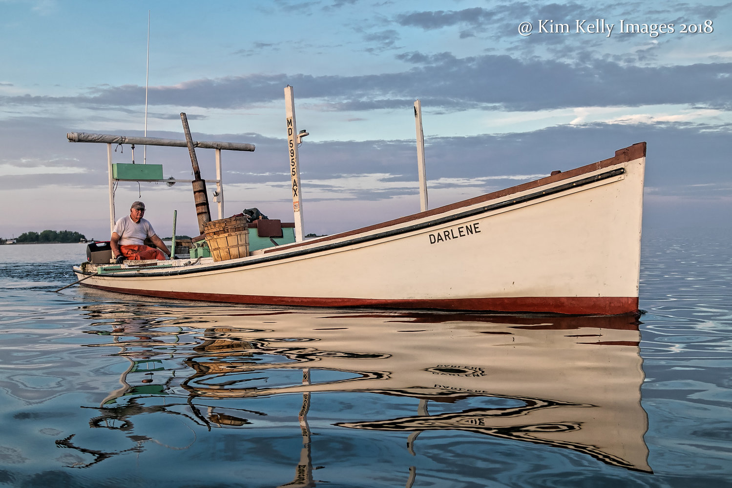 "Kim Kelly likes capturing images that depict the Chesapeake Bay. This photo is called ""A Time For Reflection"""