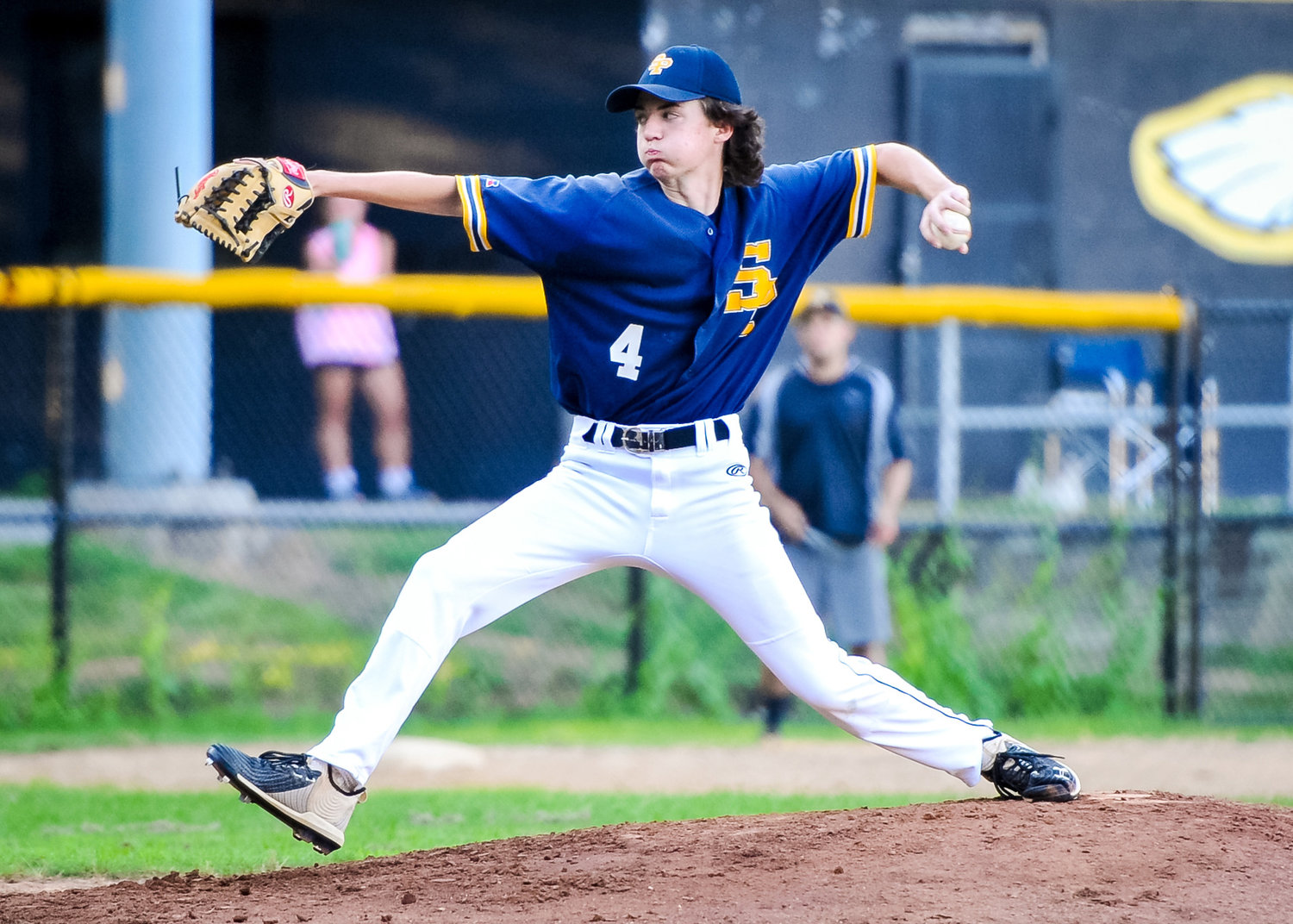 A dual threat, Michael Bowles led the 16U Severn Panthers in innings pitched and batting average this summer.