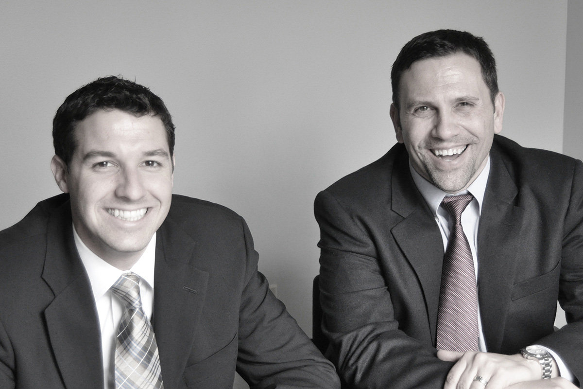 Marc Dorman (right) and Matt Lehmann strive to provide innovative solutions for the unique insurance and risk management needs of their clients.