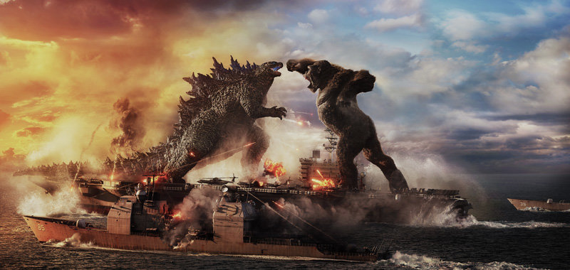 Godzilla will face Kong in a battle for the ages.