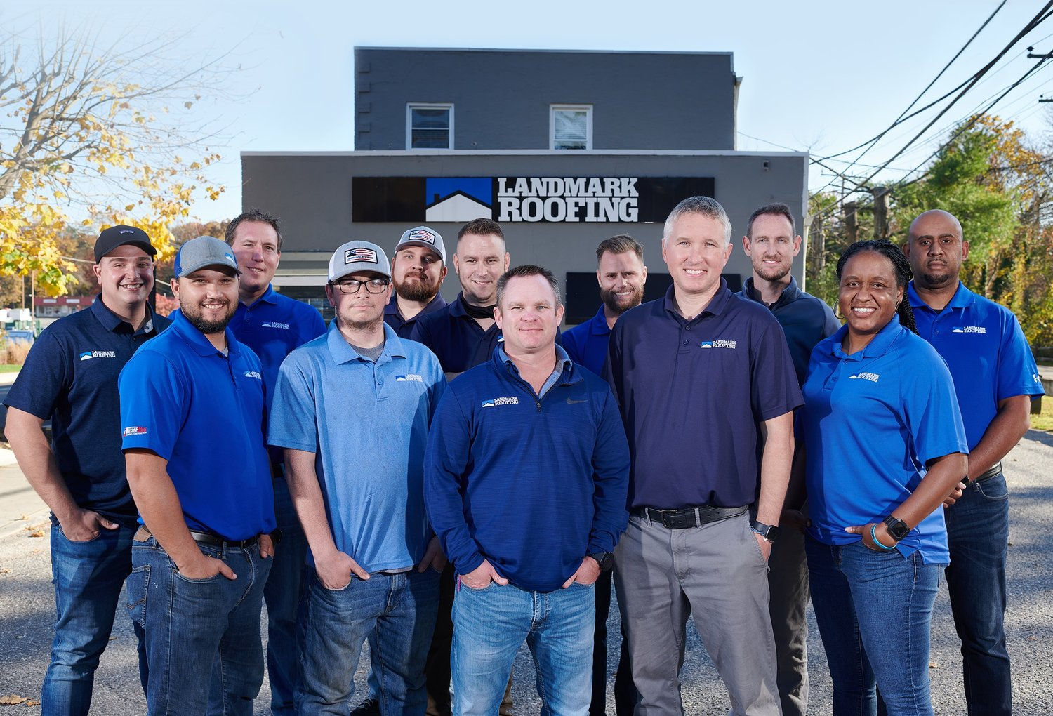 Landmark Roofing has built countless connections in the community through the company but also through charitable endeavors.