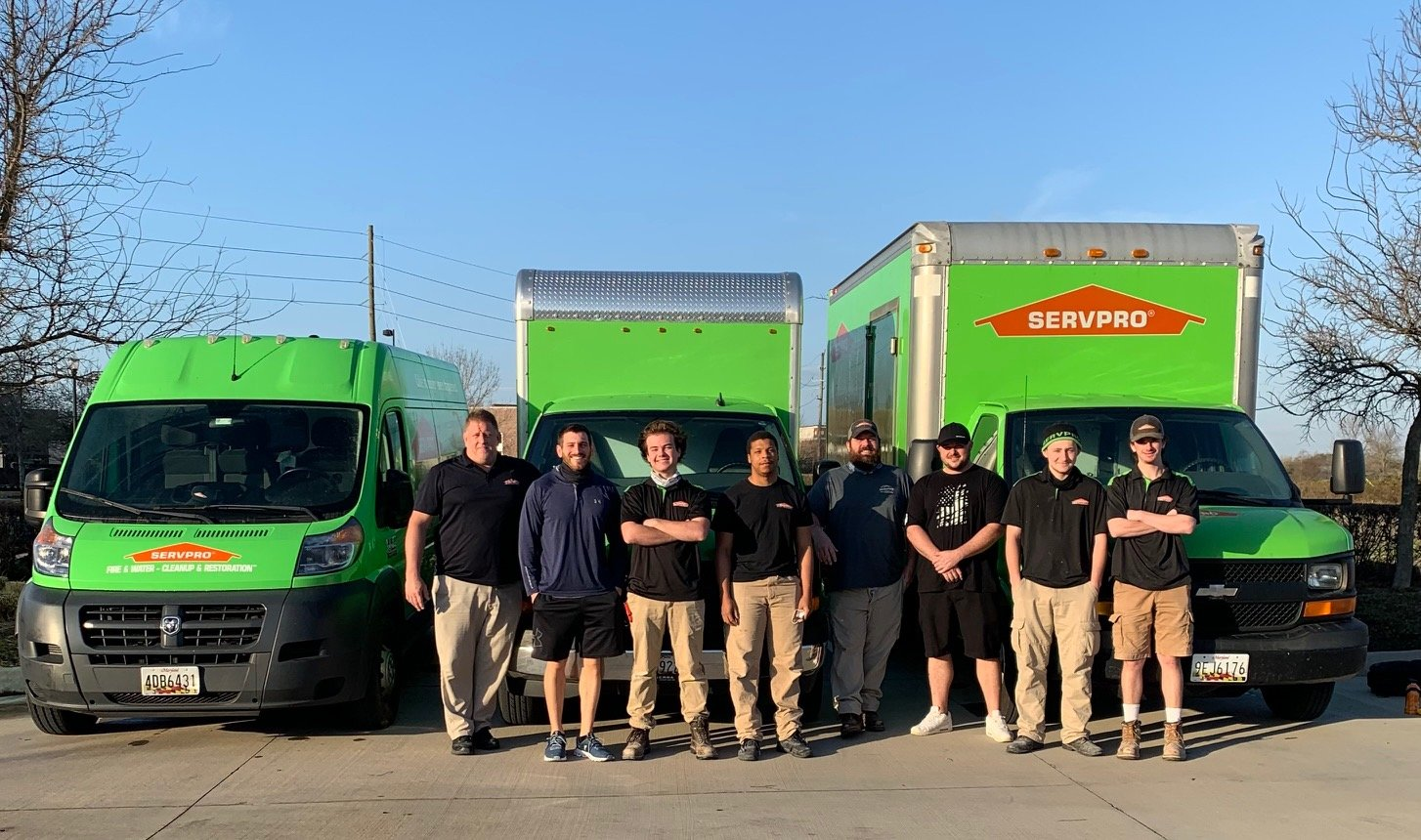A SERVPRO of Glen Burnie team traveled to Houston, Texas, from February 25 to March 12 to help after a winter storm wrecked the area.