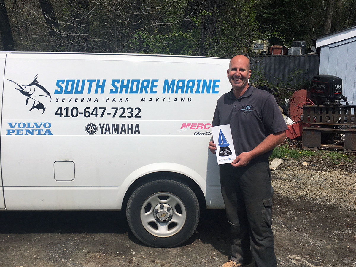 South Shore Marine was recognized for Best Marine Repair.