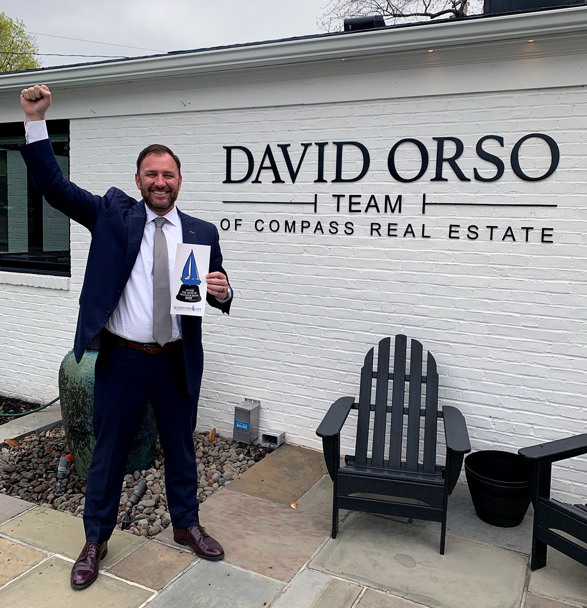 David Orso (The David Orso Team of Compass Real Estate ) was named Best Real Estate Agent.