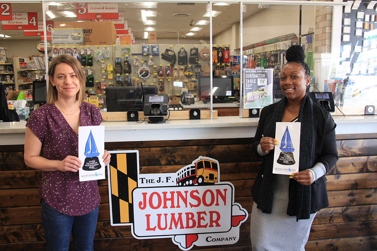 Best Kitchen/Bath Remodeling Service was given to The J.F. Johnson Lumber Company.