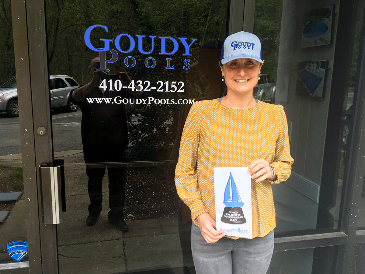 Goudy Pools earned the honor of Best Pool Service.