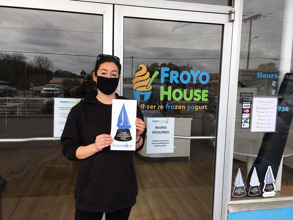 FroYo House was recognized for Best Ice Cream/Frozen Treat.