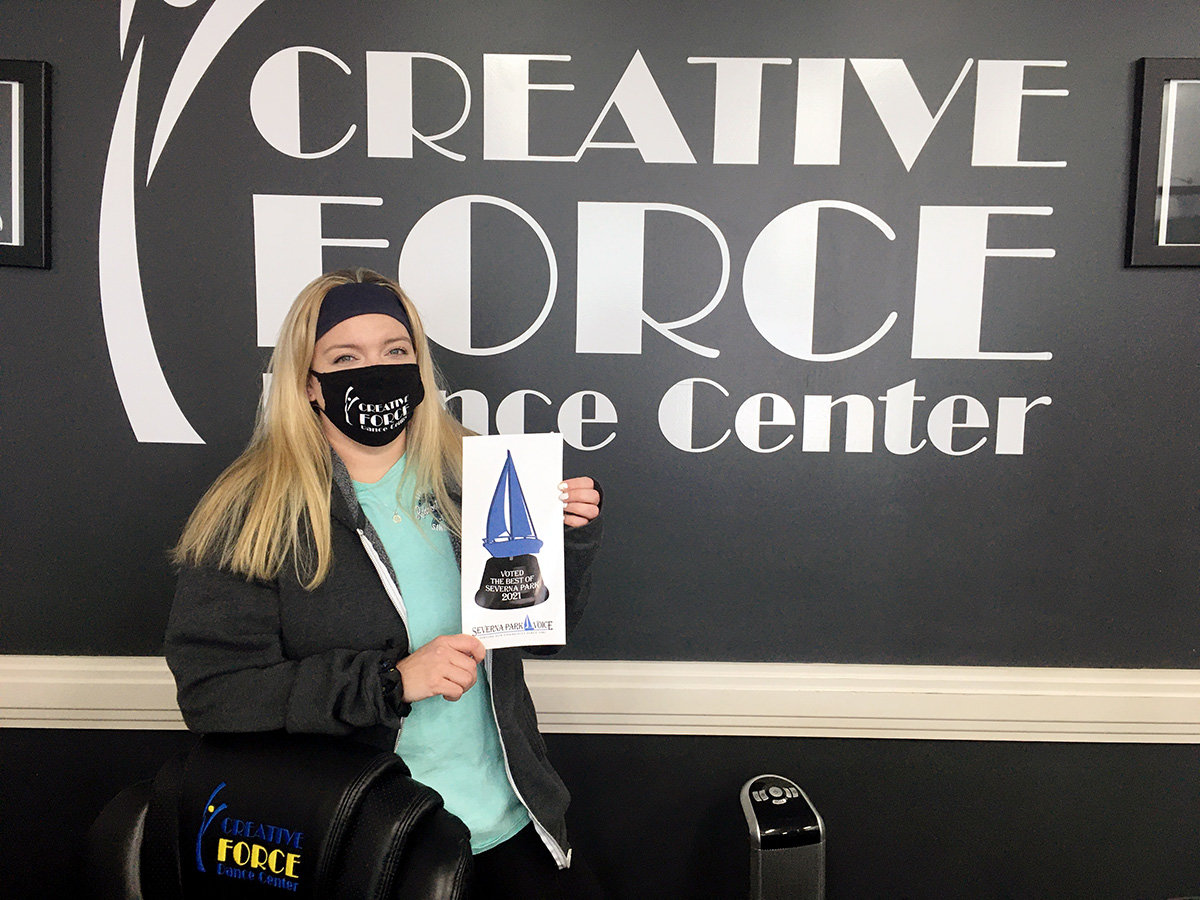 Creative Force Dance Center won Best After-School Program, Best Children's Dance Company, Best Party/Special Occasion Venue and Best Summer Camp.