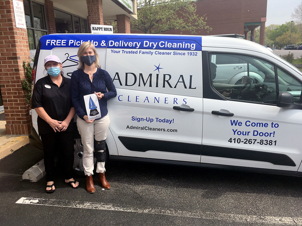 Best Dry Cleaner went to Admiral Cleaners.