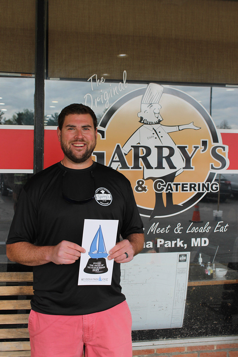 Garry's Grill and owner Eddie Conway earned a slew of awards: Best Restaurant Overall, Best Wait Staff, Best Lunch, Best Dinner, Best Kids' Menu, Best Dessert and Best Salad.
